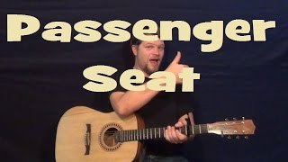 Passenger Seat (Stephen Speaks) Easy Strum Guitar Lesson How to Play Tutorial
