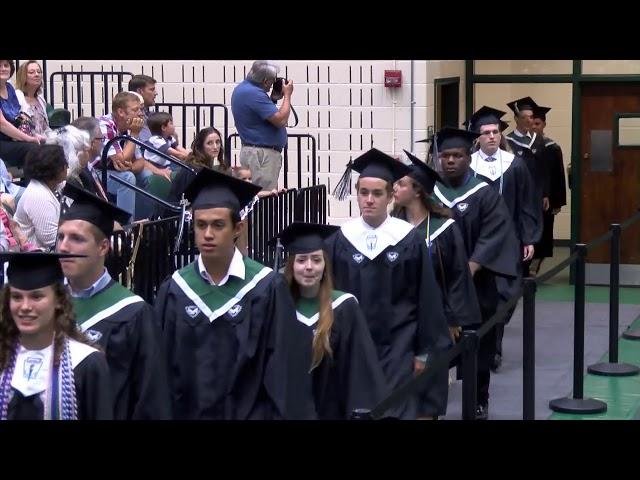 Jamestown High School Class of 2019 Graduation