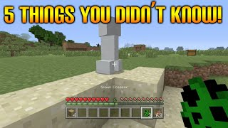 ★Minecraft Xbox 360 + PS3: 5 Cool Survival Things You Didn