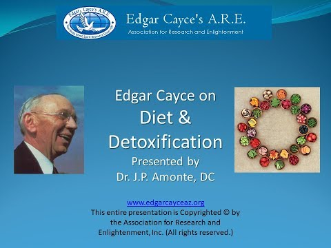 Edgar Cayce on Diet and Detoxification