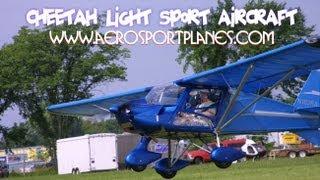 Cheetah XLS light sport aircraft from Aerosport LLC