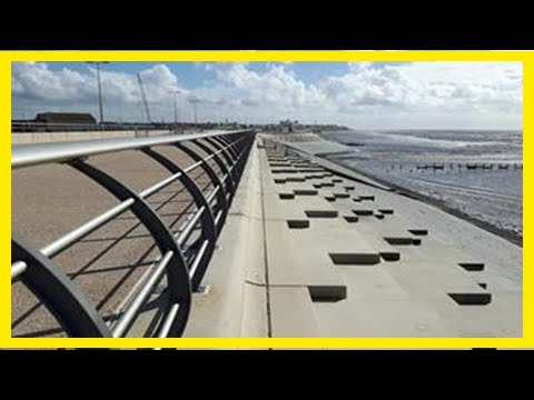 Breaking News | £27m blackpool flood defence scheme opens