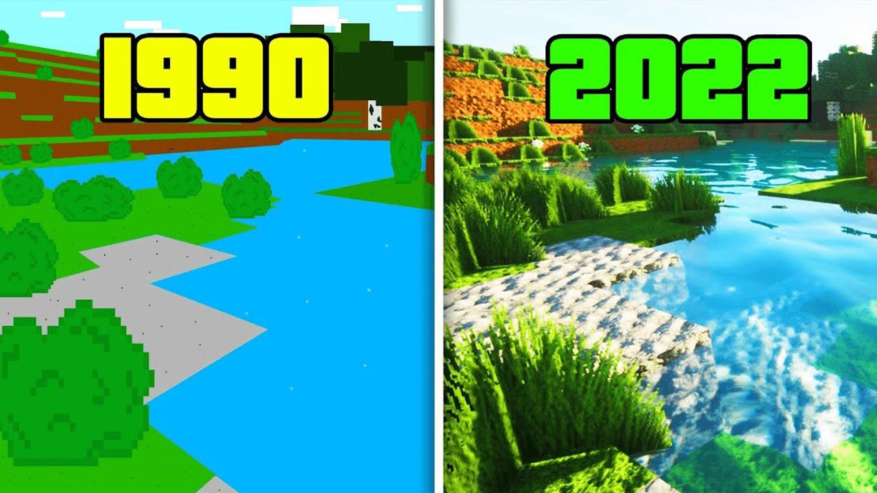 Download Evolution of Minecraft   1990 - 2021