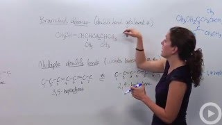 Naming Alkenes - Naming Alkynes(HD)(Watch more videos on http://www.brightstorm.com/science/chemistry SUBSCRIBE FOR All OUR VIDEOS!, 2014-04-25T00:15:00.000Z)