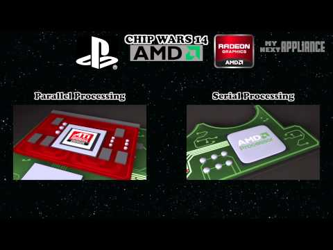Sony Playstation 4 (PS4) graphics and architecture revealed - WTF is AMD APU? CHIP WARS 14