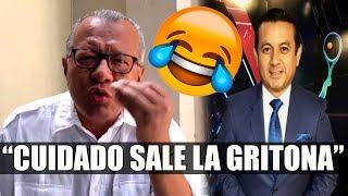 Tremenda cargada de Carlos Victor Morales a Joselo Sánchez