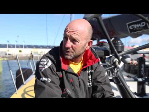 Volvo Ocean Race winner: Ian Walker