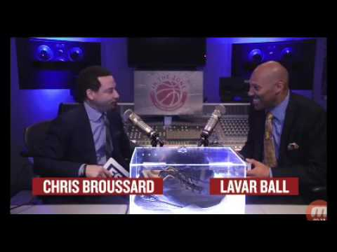 Lavar ball talking about his big baller brand shoes and where his son's going to go