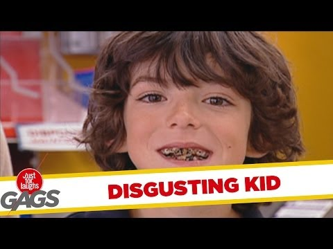 Rotten Tooth Kid Loves Candy - Throwback Thursday