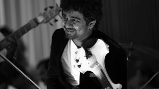 "Abhijith Violin Live - ""Etho Varmukilin""on Violin With His fusion Band"