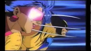 X-MEN EXTREME JAPANESE ANIME INTRO (unreleased)