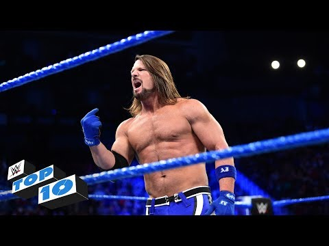 Top 10 SmackDown  moments: WWE Top 10, February 6, 2018