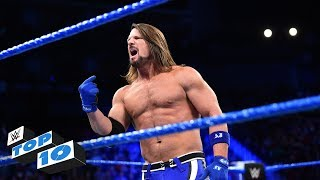 Top 10 SmackDown LIVE moments WWE Top 10 February 6 2018