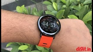 Huami Amazfit Pace Smartwatch Review | Digit.in