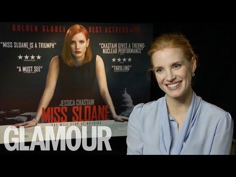 Jessica Chastain on Miss Sloane & Shattering Gender Stereotypes | Glamour UK