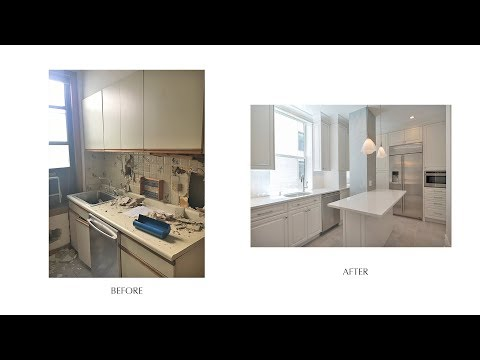 Before & After of Making a Prewar Apt a Traditional Gem - W 81st St, NYC