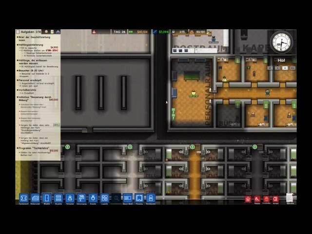Let's Play Prison Architect | Neue Duschen | Folge #020