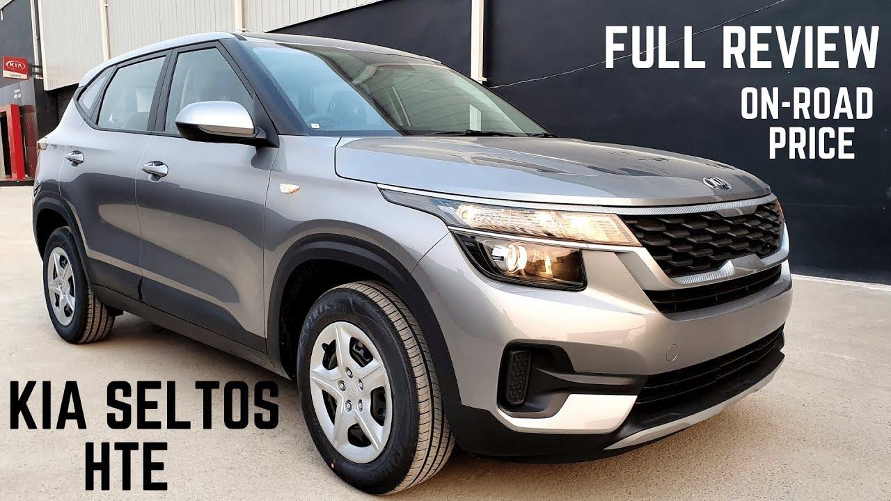 Kia Seltos Hte Base Model Full Detailed Review All Features Price Interiors Kia Seltos 2019 Youtube