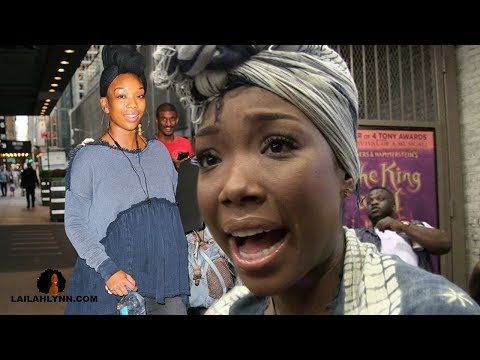 Why Brandy Looks Pregnant Even Though She's Not