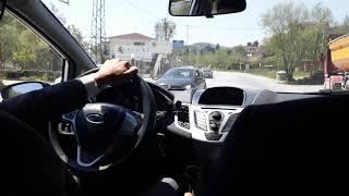 Ford Fiesta Yanlama - El Freni - Drifttttt !!! (Efsane Geri Döndü)