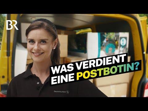 Paketzusteller & Briefträger: Das verdient eine Postbotin bei der Deutschen Post| Lohnt sich das?|BR