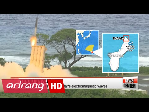 U.S. gives S. Korean media tour of THAAD battery in Guam