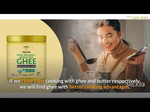 Cooking with Ghee Vs Butter: The trendier option