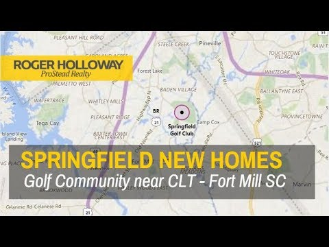 New Homes Springfield Fort Mill Sc
