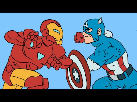 This Animated Short Will Get You Up To Speed For Marvel's Civil War