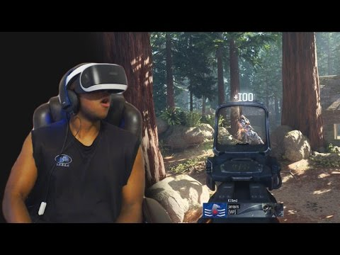 DOES IT VR | Call Of Duty : Black Ops 3 Played with PlayStation VR