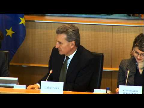 """Oettinger: An EU-wide """"Google tax"""" to stabilize the publishing industry?"""