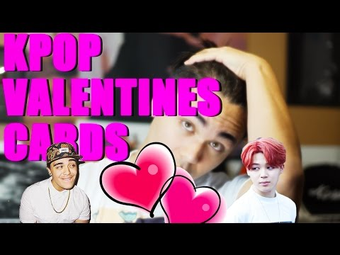 Kpop Valentine Cards Youtube