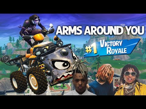 "Fortnite Montage - ""ARMS AROUND YOU"" (XXXTentacion, Lil Pump, Swae Lee & Maluma)"