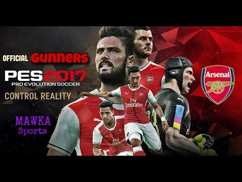 Arsenal's Best Formation and Tactics PES 2017||PES TUTS