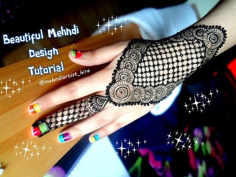 Mehndi Army : Watch how to apply easy simple mehndi designs for hands tutorial