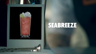 Seabreeze Drink Recipe - How To Mix