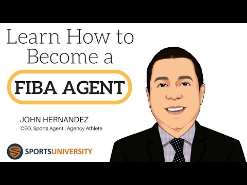Learn How to Become a FIBA Sports Agent