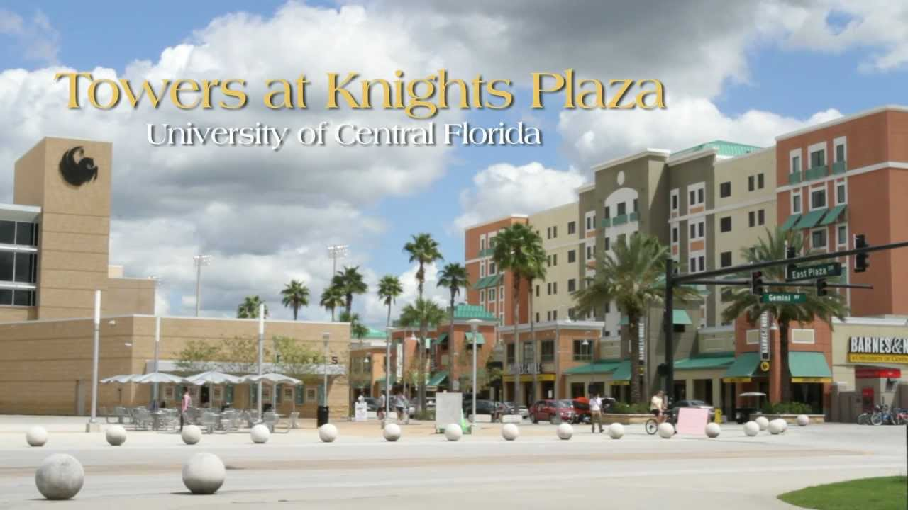 UCF Towers at Knights Plaza - YouTube