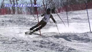 第94回 全日本スキー選手権大会 男子回転 Bib30番まで