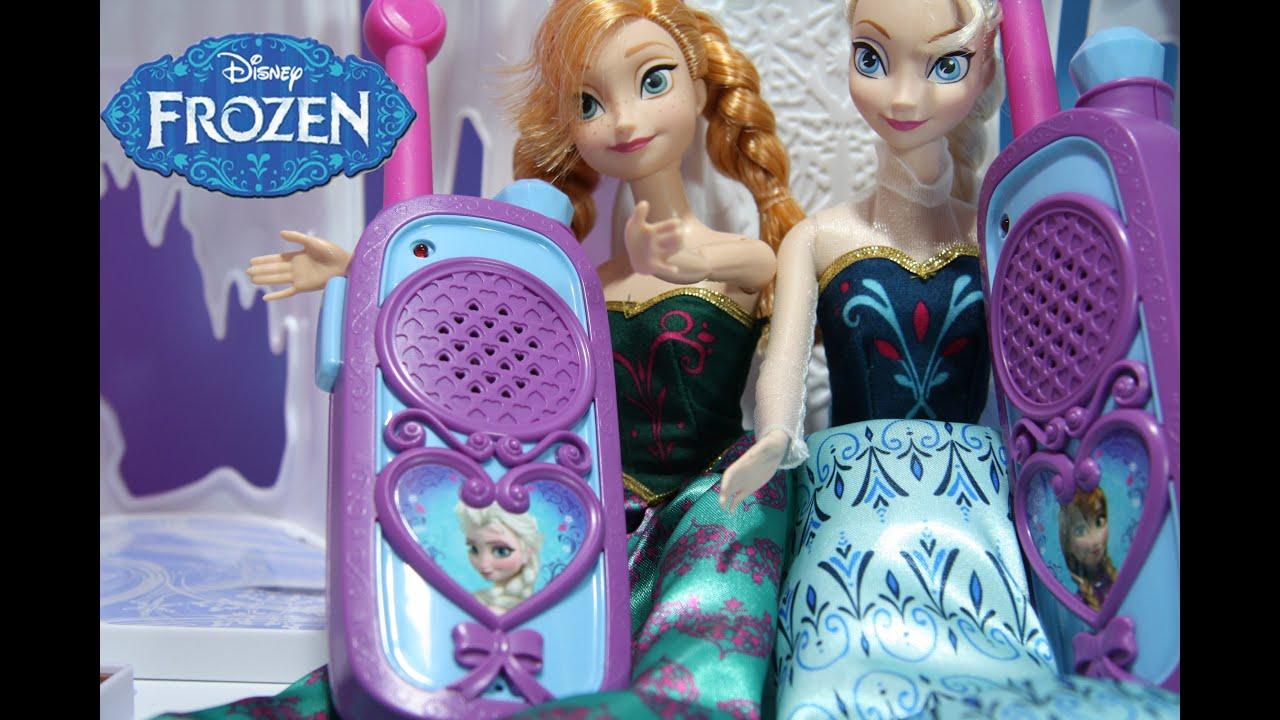 Frozen Walkie Talkies Parody Review From Disney Frozen