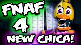FNAF 4 CHICA'S NEW DESIGN || FNAF Spin Off Confirmed? || Five Nights at Freddy's 4 Explained