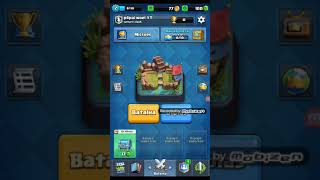 The beginning of a journey on the Clash Royale.