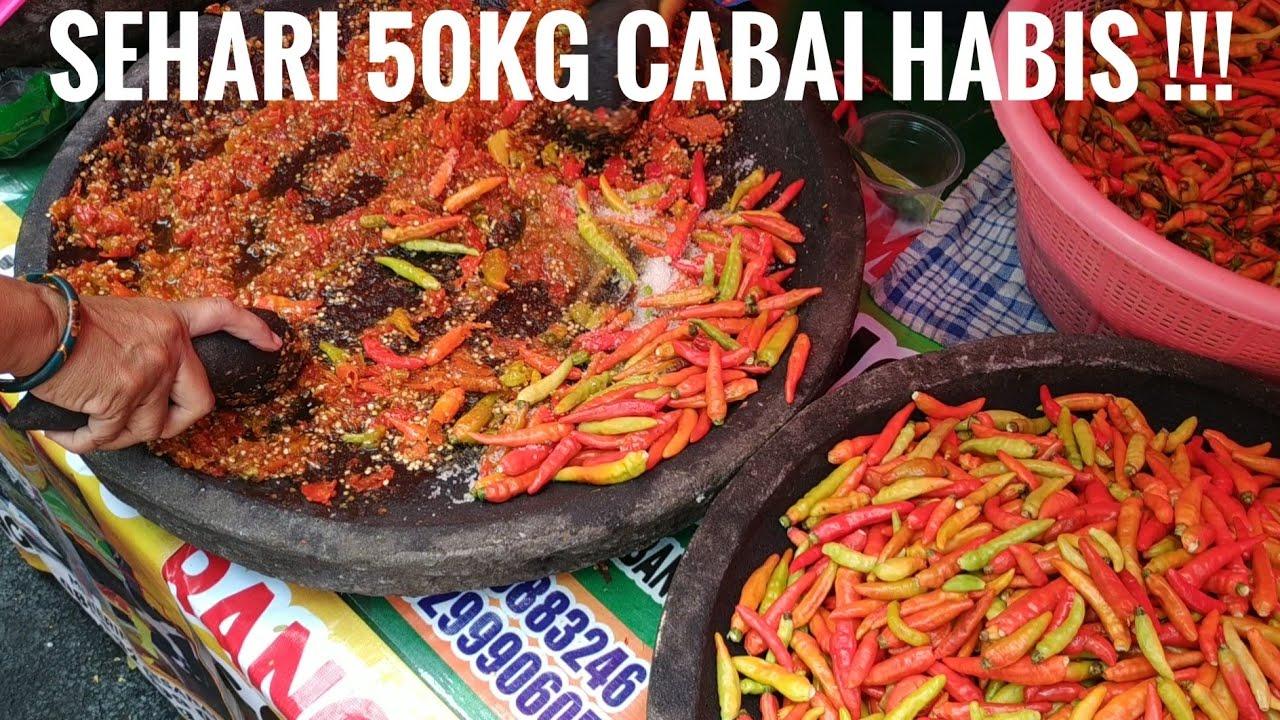 Sehari 50kg Cabe Habis Festival Kuliner Nusantara