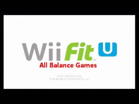 Wii Fit U: All balance Games (Nintendo Wii U).