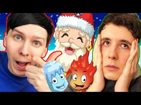 A Festive Female-Exit! Dan and Phil play: Fireboy and Watergirl #3!
