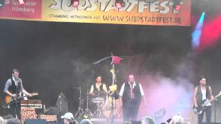 Vladiwoodstok - Live beim Südstadtfest in Nürnberg, 04.07.2015