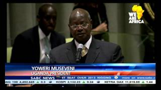 Uganda's President has blasted the lack of reform at the United Nations Uganda's President has blasted the lack of reform at the United Nations and blamed a Security Council decision that allowed military action in Libya for the ..., From YouTubeVideos