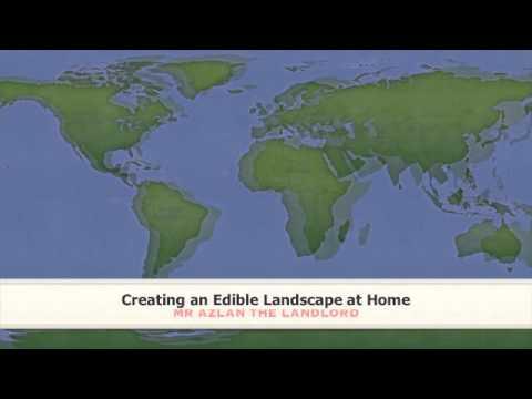 AZLAN SPEAKS: Creating an Edible Landscape at Home