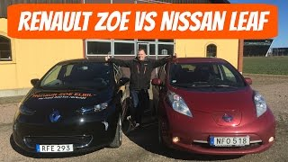 Renault Zoe 40 vs Nissan Leaf | Which one to get?