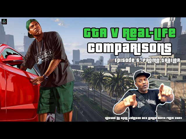 GTA V Real-Life Comparisons: Beverly Hills Promo Trailer